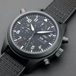 IWC Pilot's Watch Double Chronograph TOP GUN Ceratanium