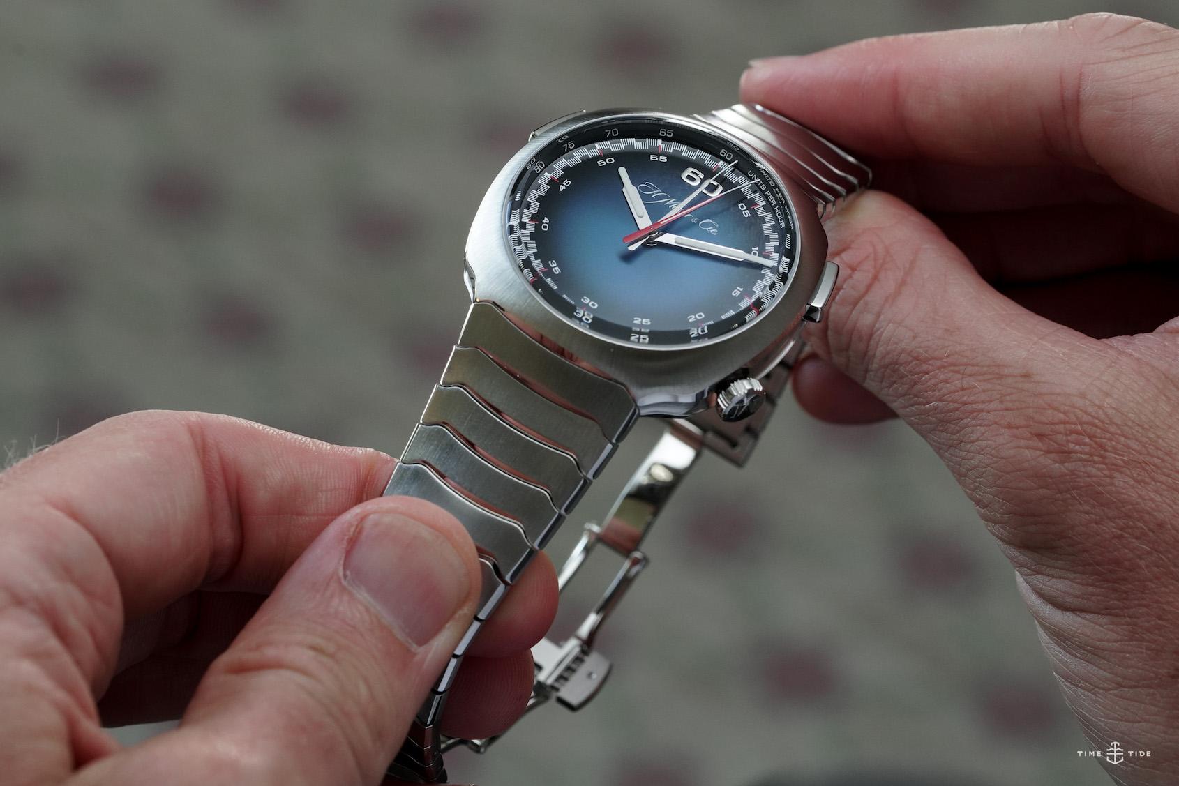 H.Moser & Cie Streamliner Flyback Chronograph