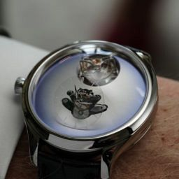 H.Moser x MB&F Endeavour Cylindrical Tourbillon