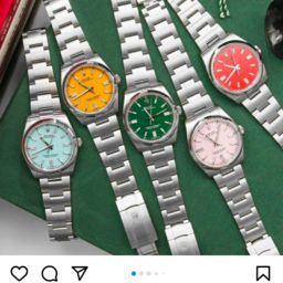 Rolex Oyster Perpetual dial colour