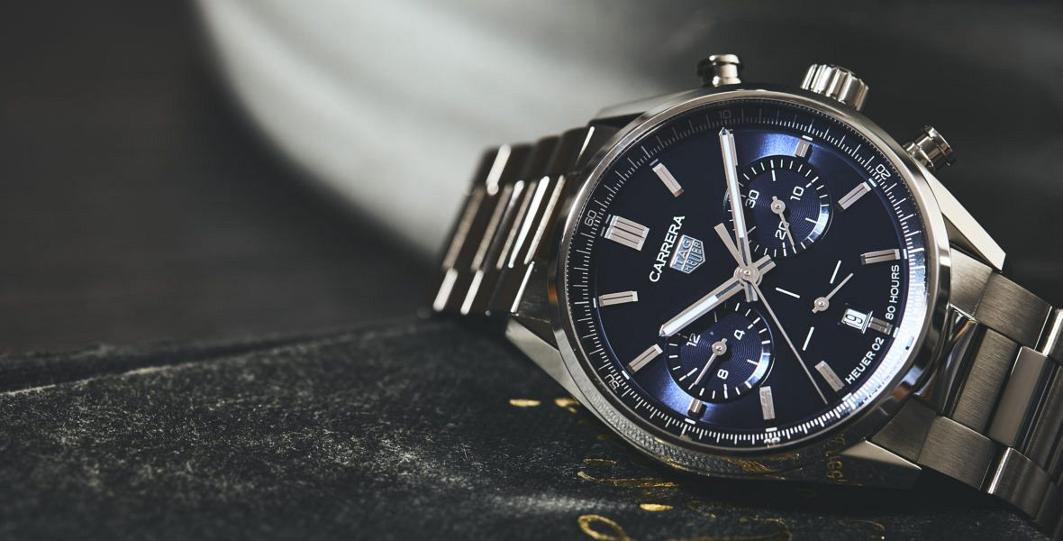 TAG Heuer Carrera Collection blue dial