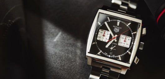 TAG Heuer Monaco on bracelet