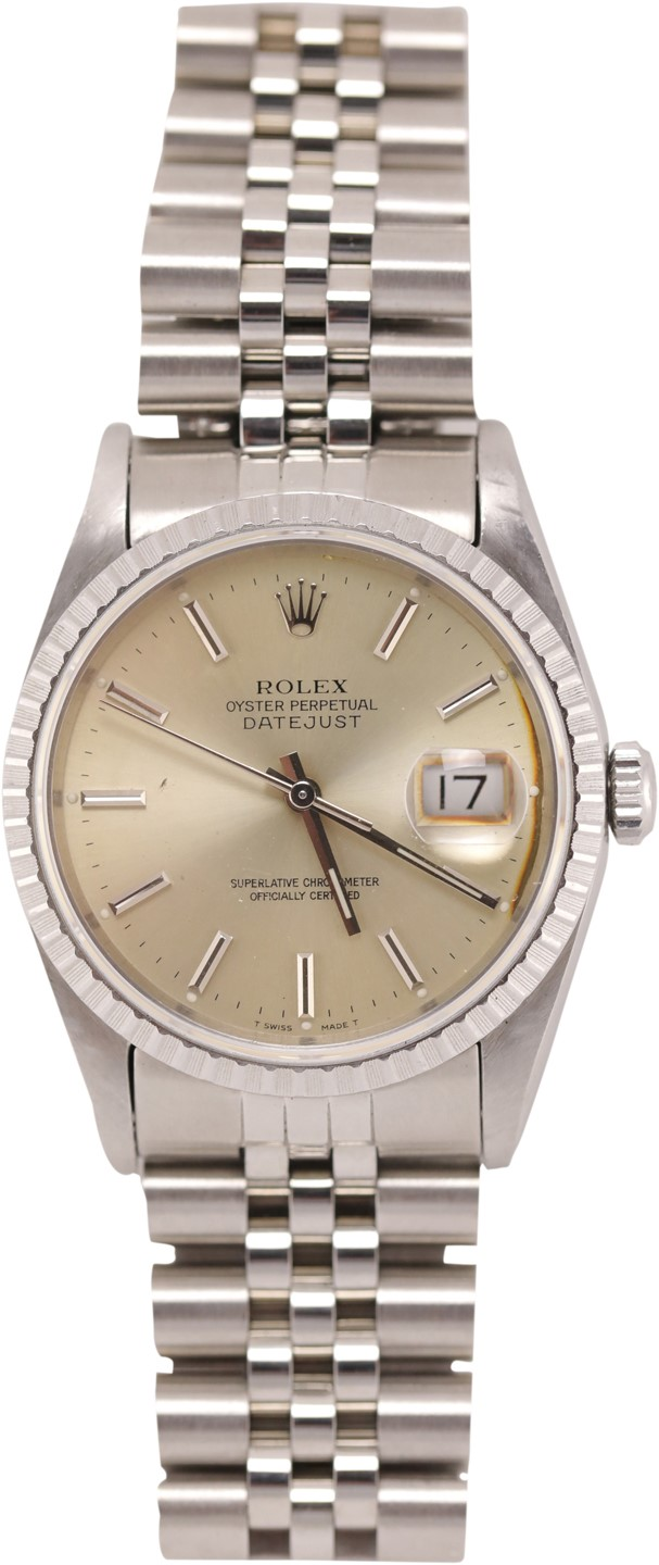 Michael Jordan gifted him a Rolex Datejust