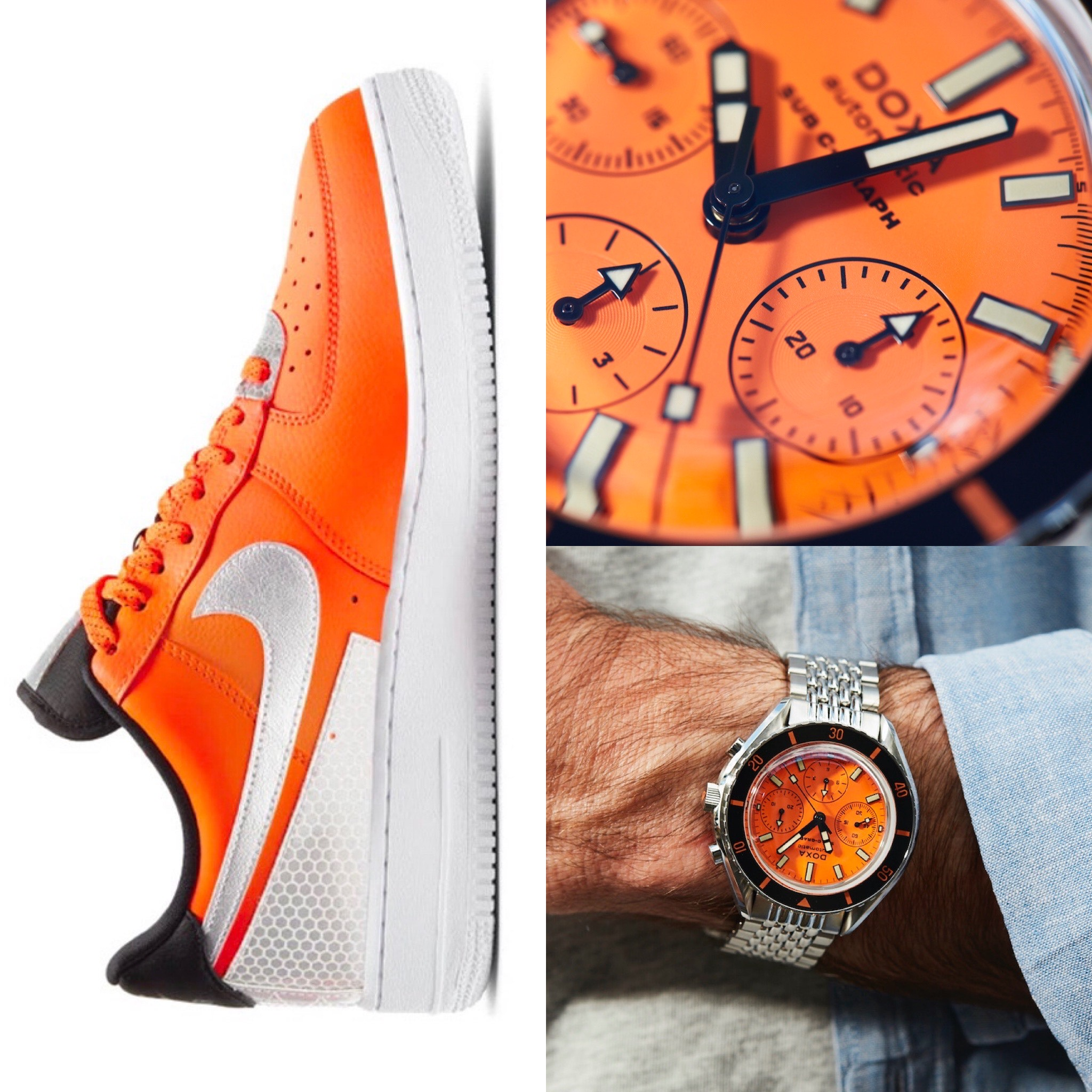 #Kicktock: We pair Nike's latest drop with the DOXA SUB 200 C-Graph, and magic happens