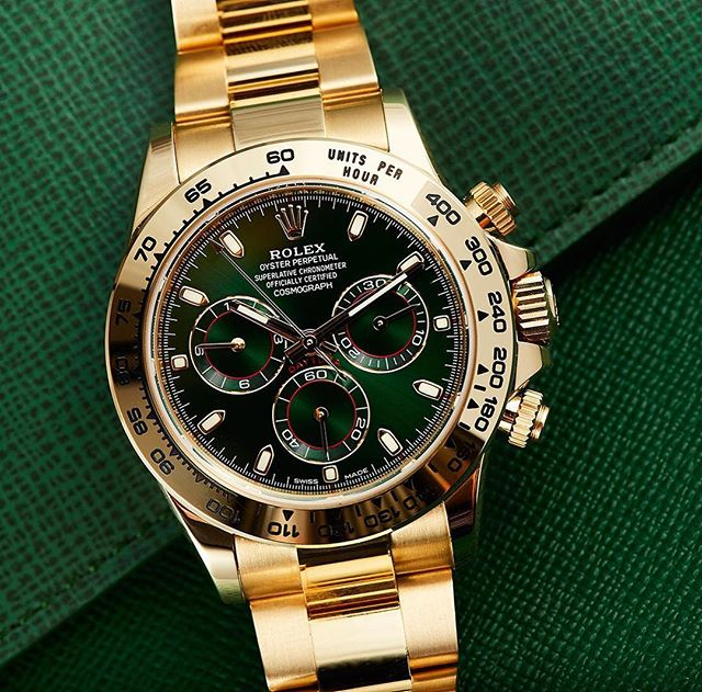 John Mayer just made this green and gold Daytona the next hype-piece