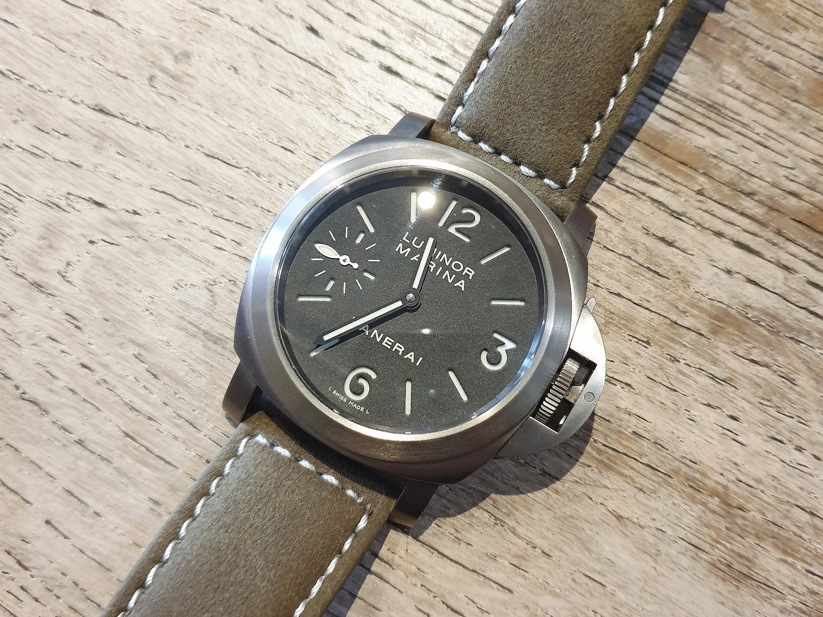 What Sealed The Deal –John J and his Panerai 177