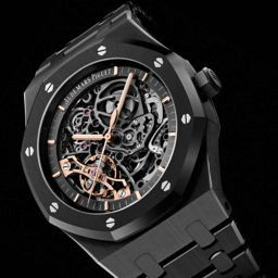 Audemars Piguet Royal Oak Double Balance Wheel Openworked Black Ceramic