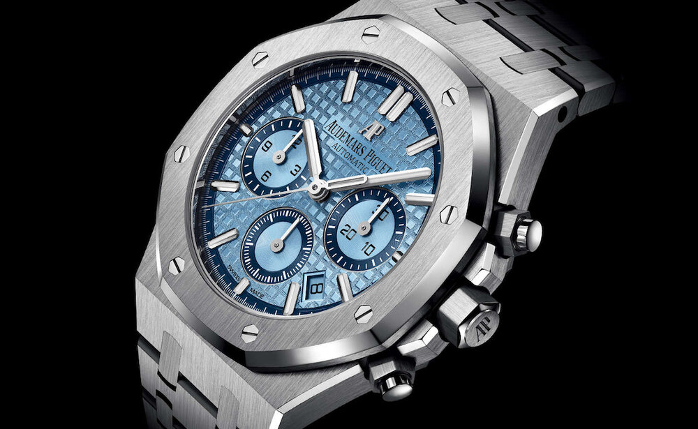 INTRODUCING: The menthol-fresh Audemars Piguet Royal Oak Chronograph Limited Edition in 18k white gold
