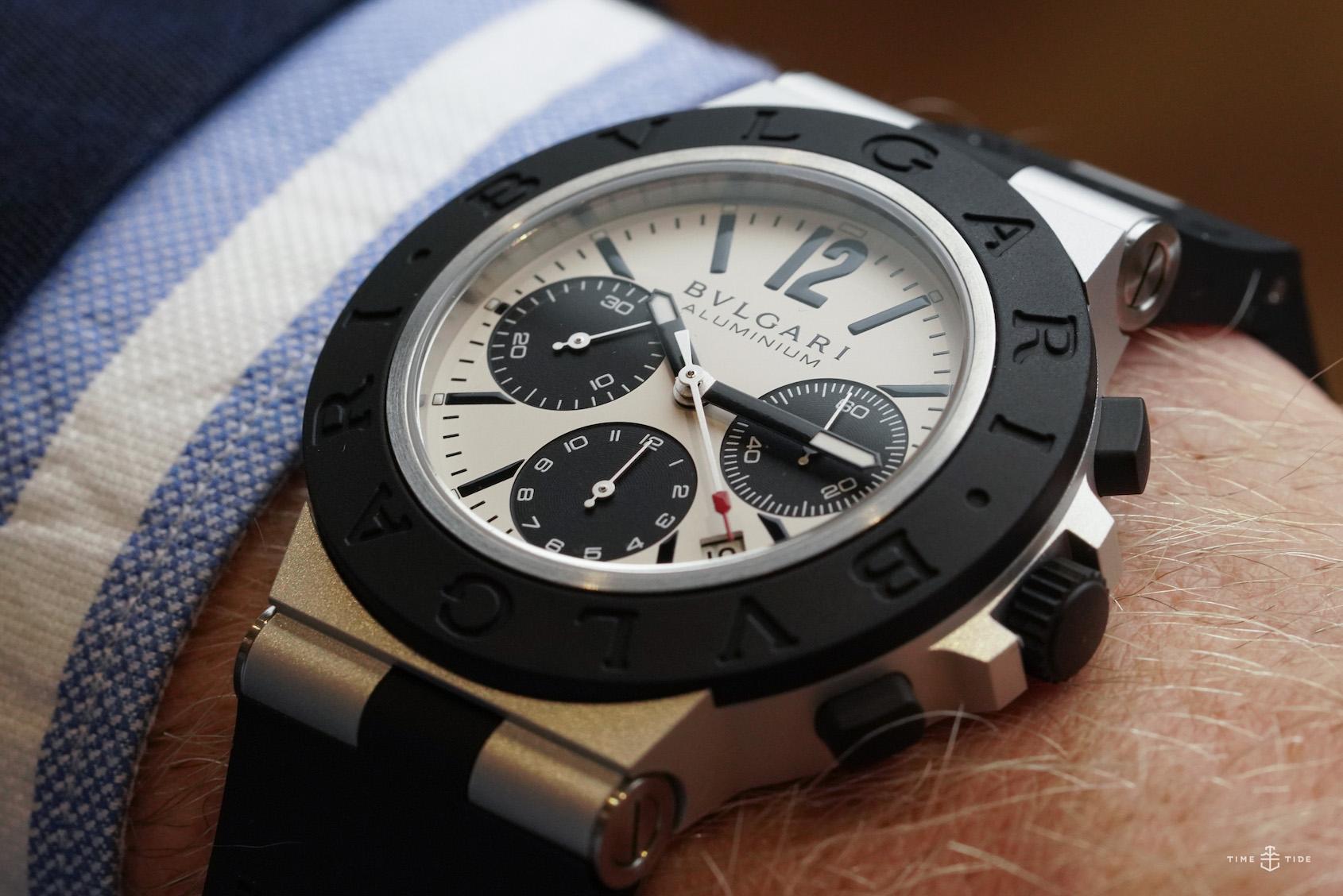 HANDS-ON: The lightweight luxury of the new Bulgari Aluminium collection