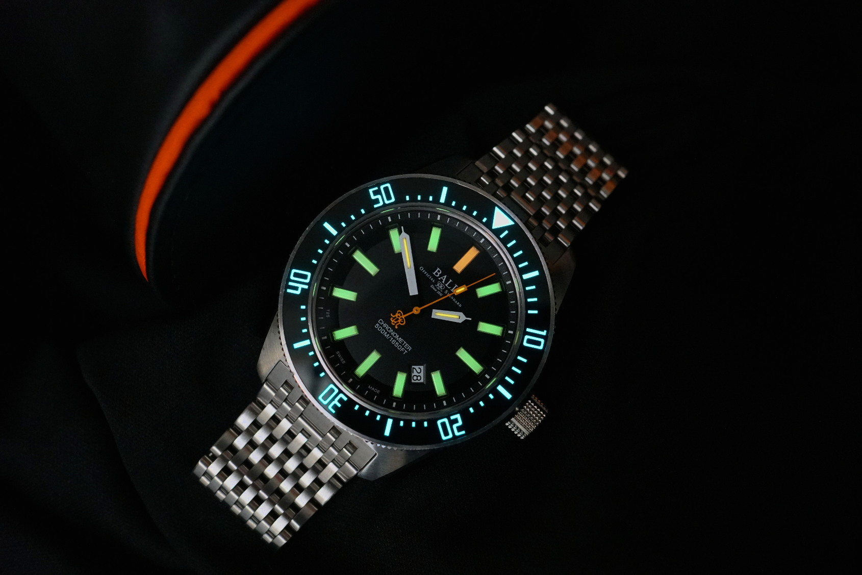 Solid value, awesome lume –the Ball Engineer Master II Skindiver II