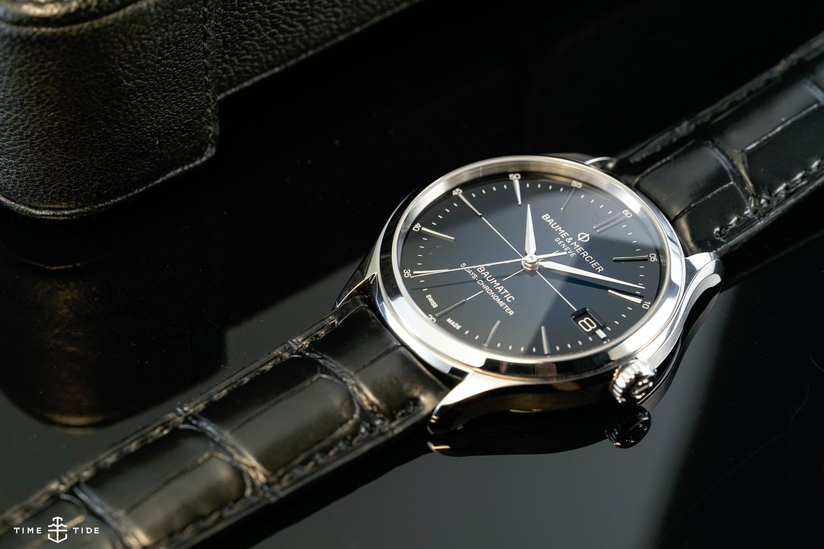 Dress blues – Baume & Mercier's Clifton Baumatic with a gorgeous gradient blue dial