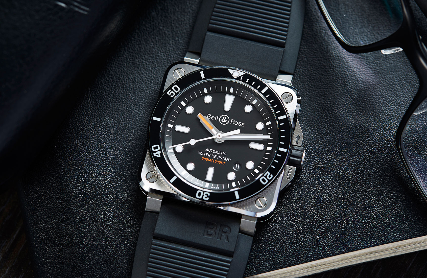 Diving for squares – the Bell & Ross BR 03-92 Diver