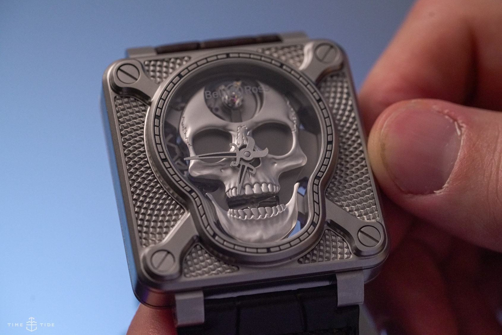 HANDS-ON: Put a smile on your dial – the Bell & Ross BR 01 Laughing Skull