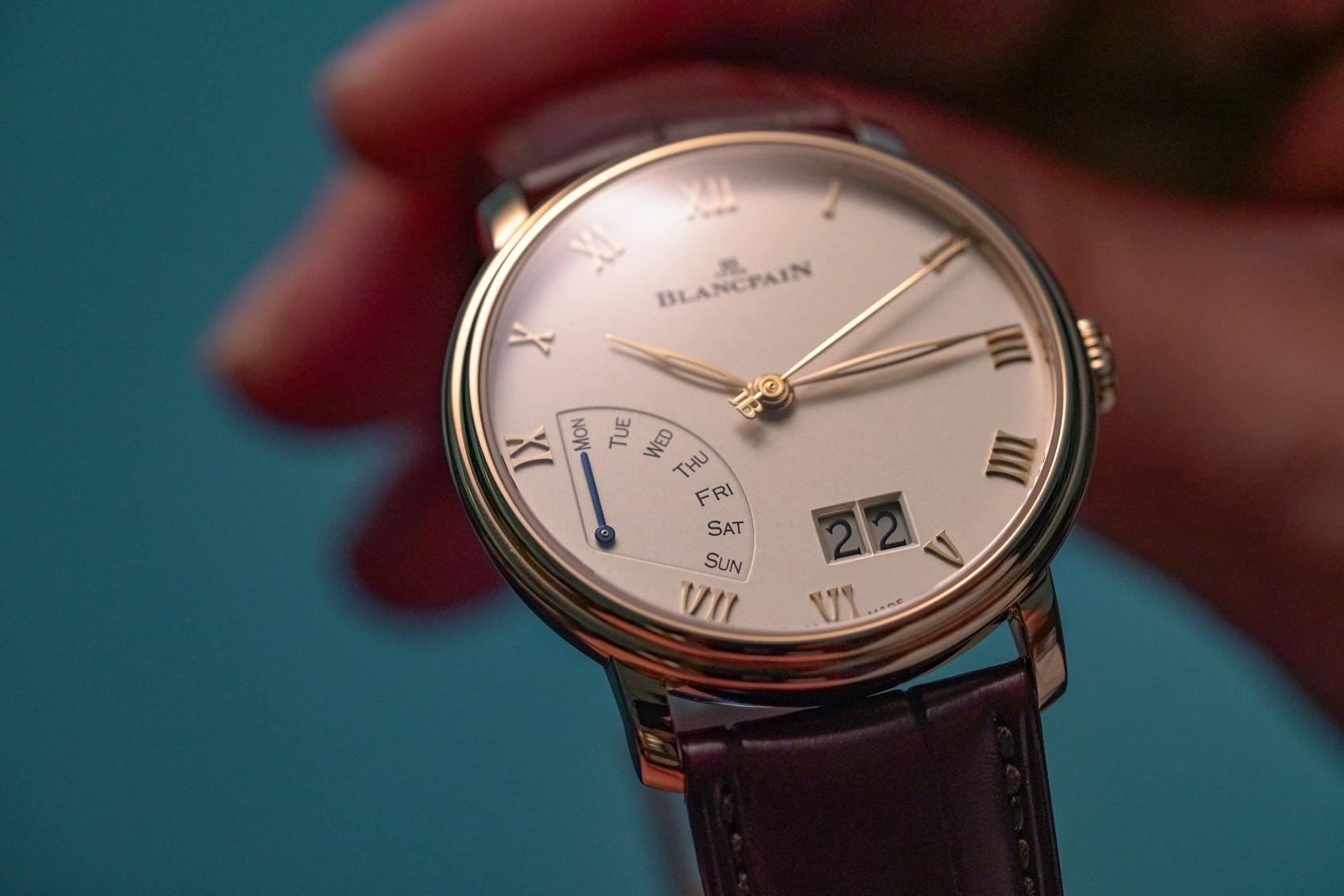 HANDS-ON: Everyday elegance – the Blancpain Villeret Grande Date Jour Rétrograde