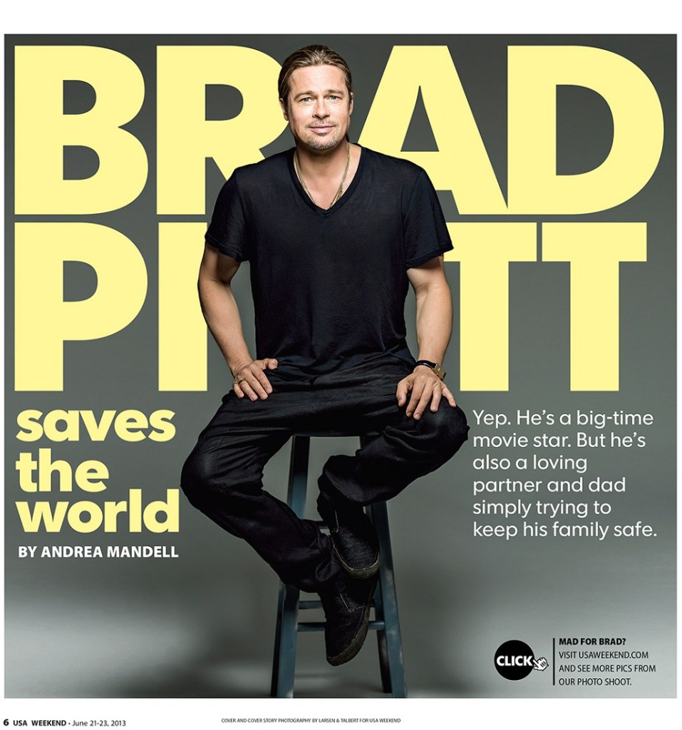 Brad Pitt watch collection