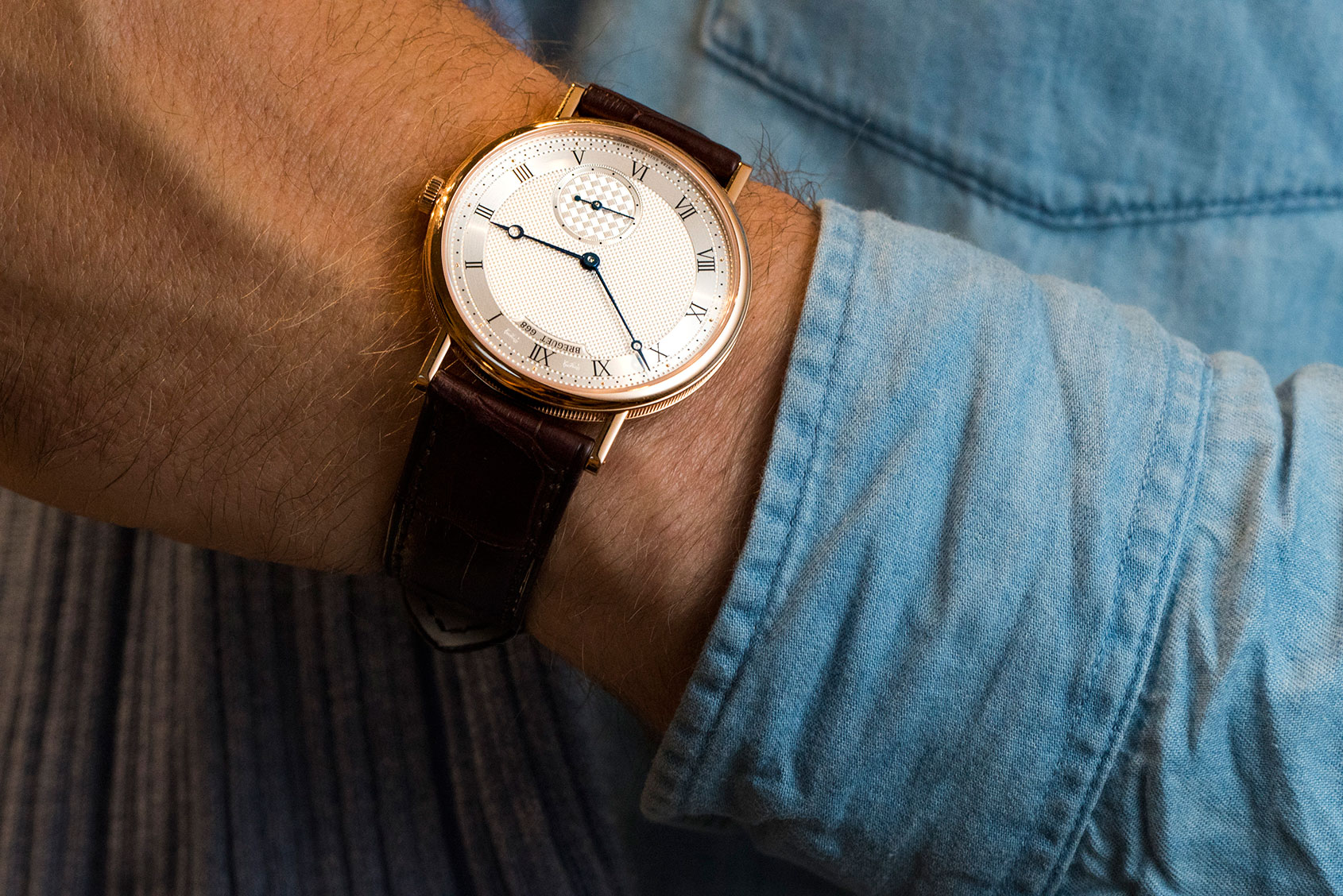 This Breguet Classique 7147 is pretty unbeatable as a dress watch
