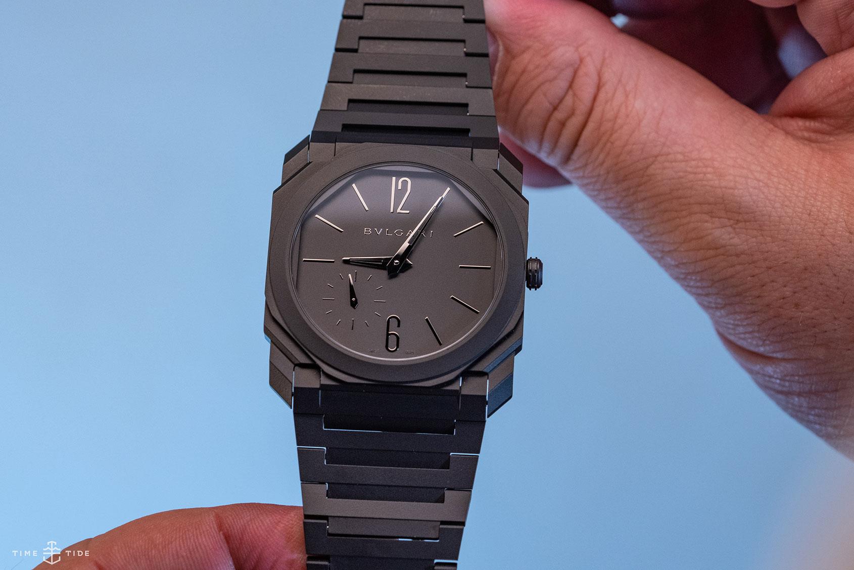 """Even more style than the titanium"" – the black ceramic Bulgari Octo Finissimo explained by its designer"