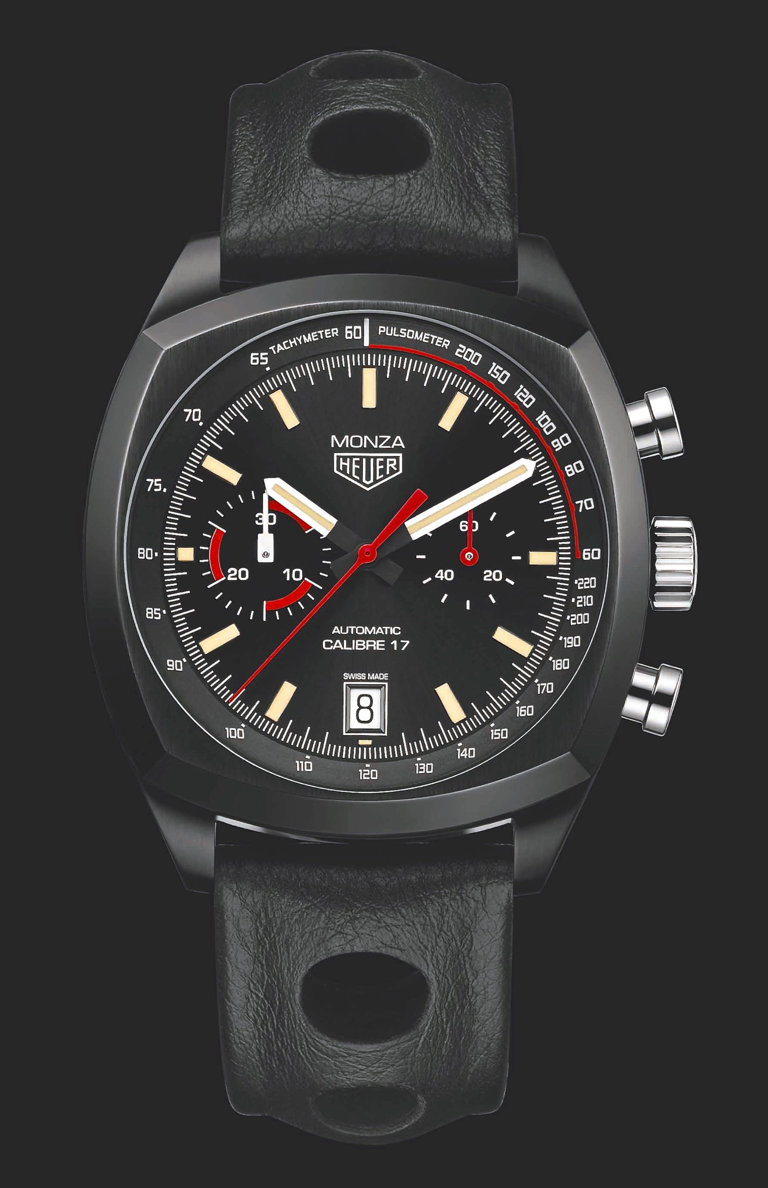 INTRODUCING: The TAG Heuer Monza CR2080, the legend is black