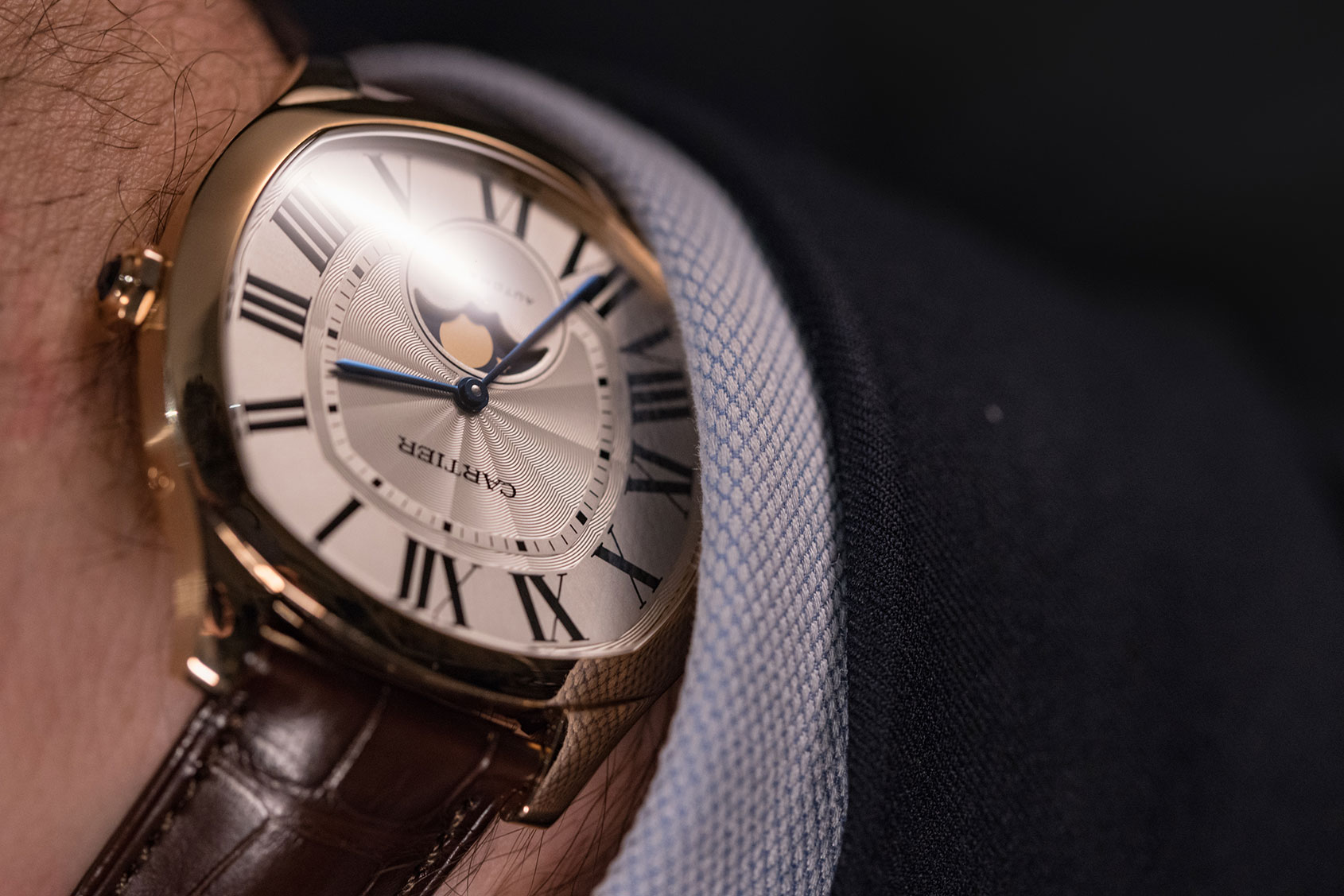EDITOR'S PICK: Worth suiting up for – the Cartier Drive de Cartier Moon Phases