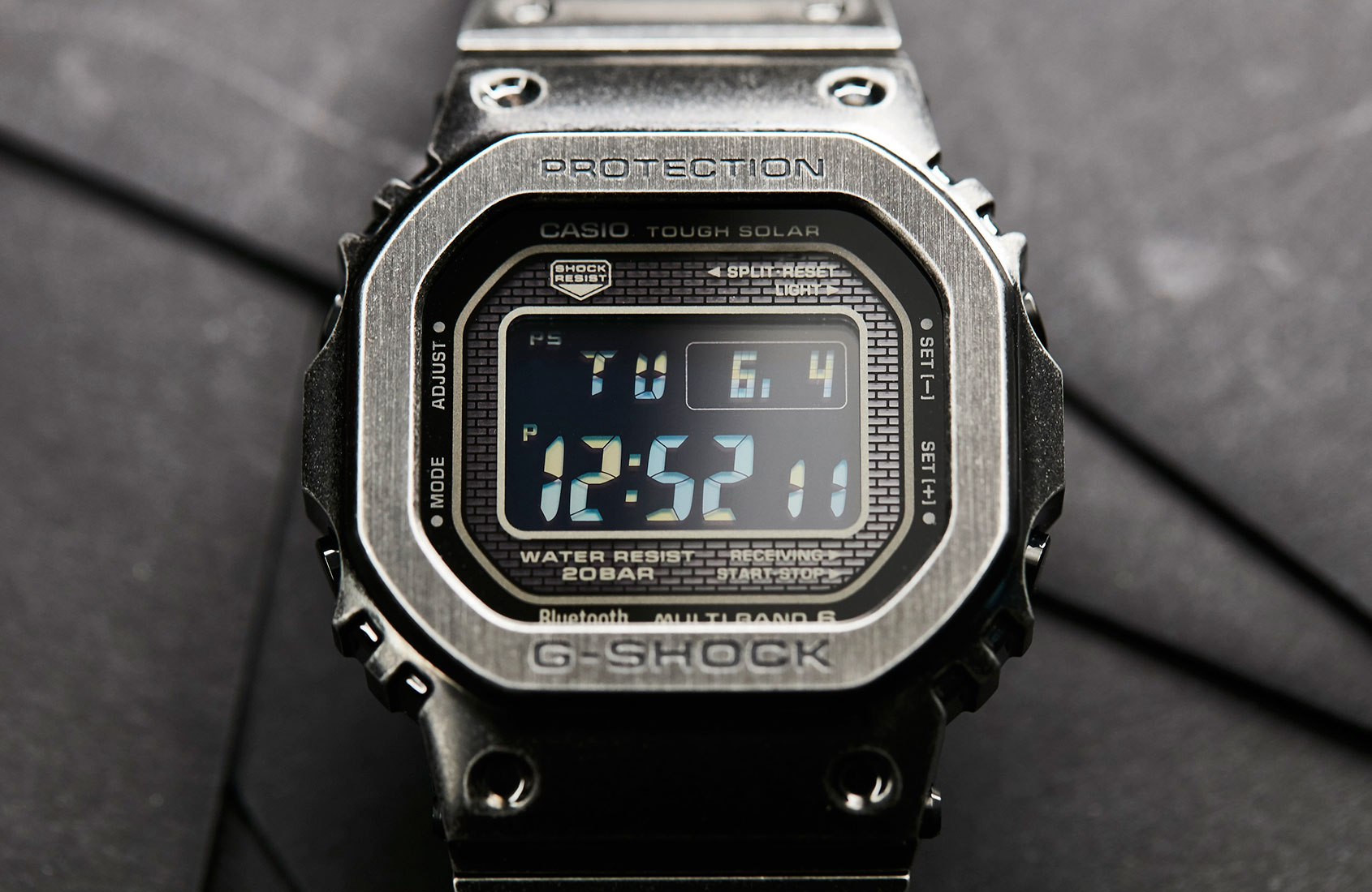 Gunmetal greatness with the Casio G-Shock GMW-B5000V