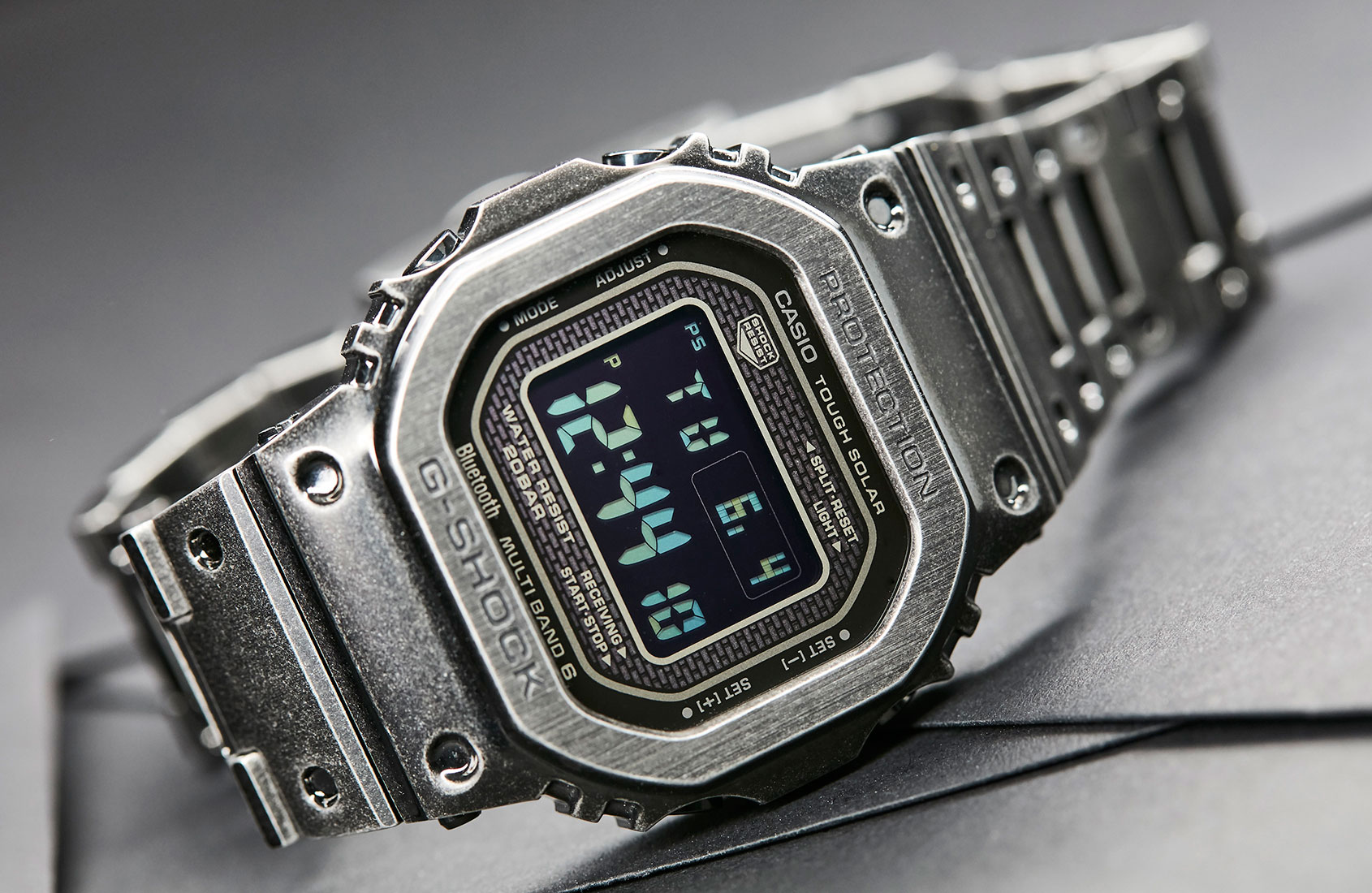 Andrew talks about how Time+Tide started, and explains why he copped the Casio G-Shock Full Metal Black Aged IP