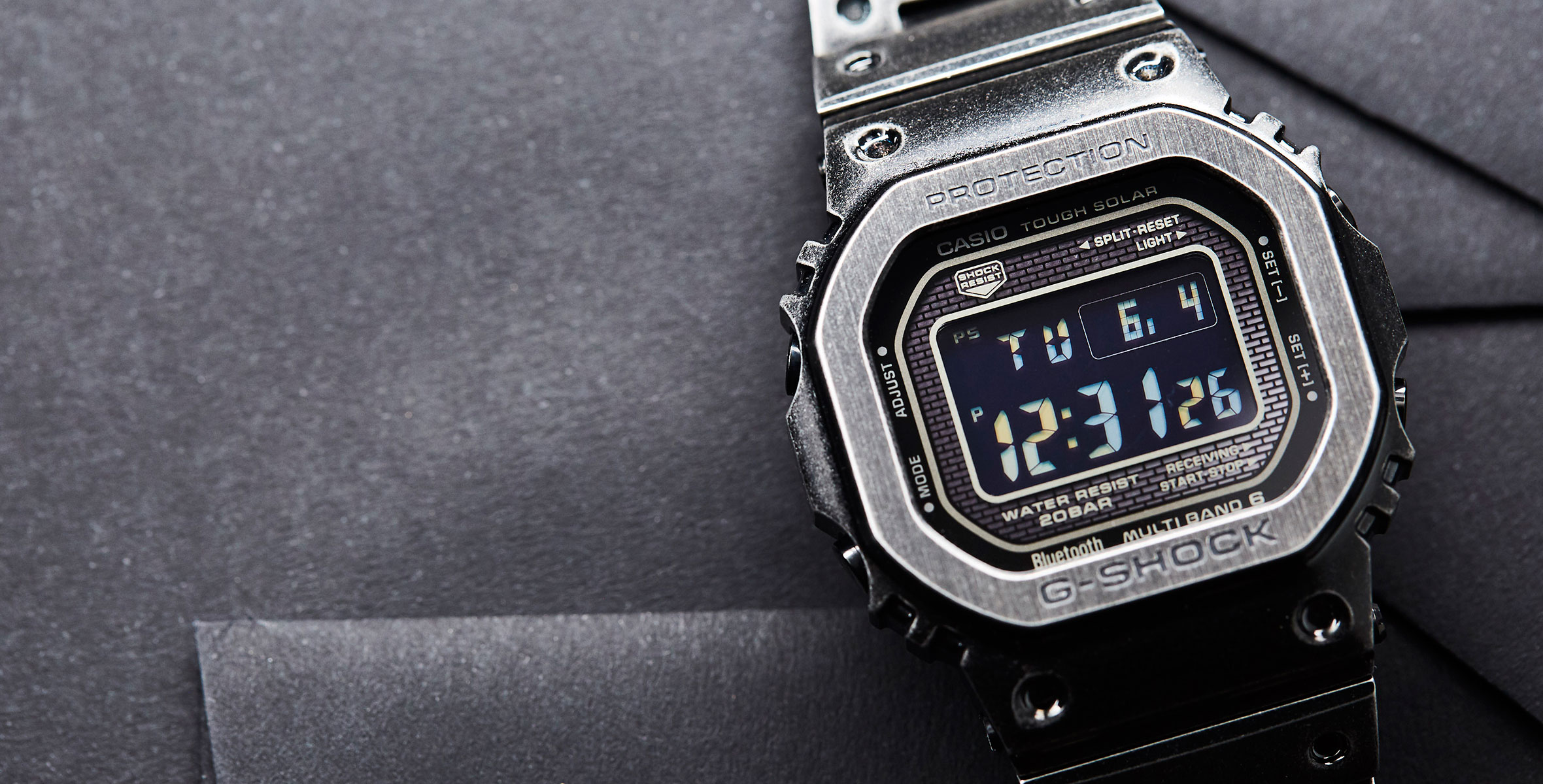 HANDS-ON: Full metal jacket – the Casio G-Shock GMW-B5000V