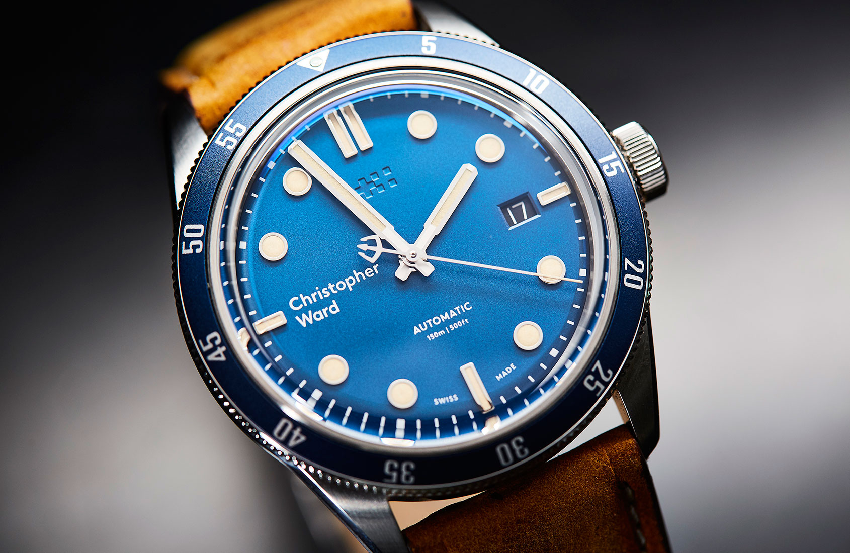 Dive into the Christopher Ward C65 Trident Automatic
