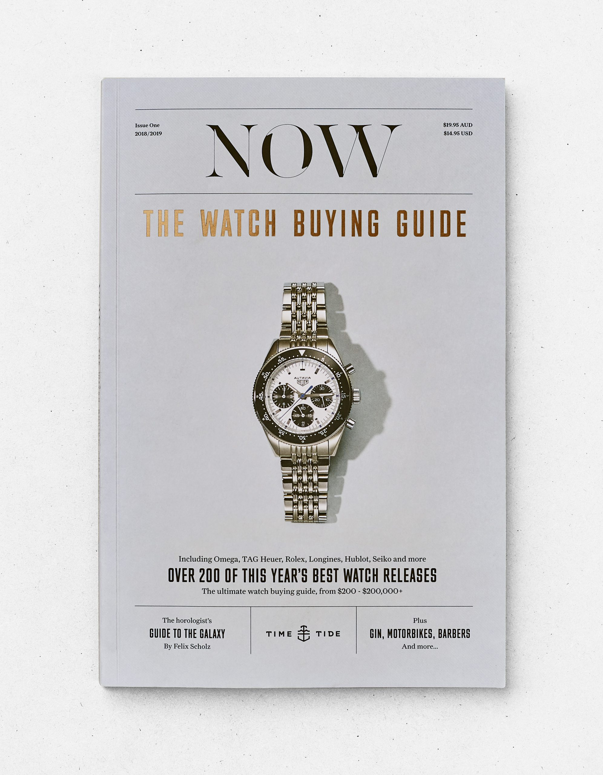 INTRODUCING: Time+Tide's NOW Magazine Edition 1, now available in the shop