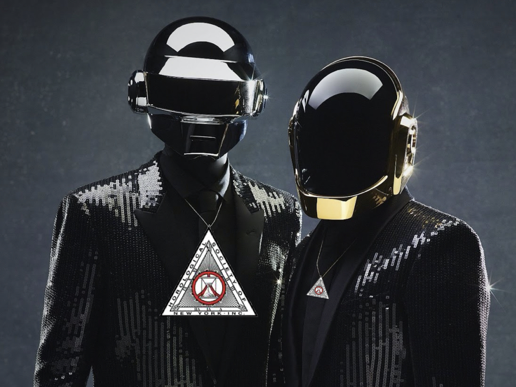 Daft Punk is not playing at our house. It's better. HSNY is at our office to party.