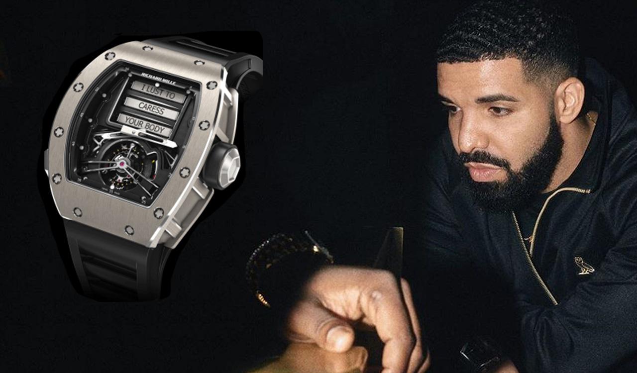 VIDEO: A closer look at Drake's sexy Richard Mille Erotic Tourbillon RM 69