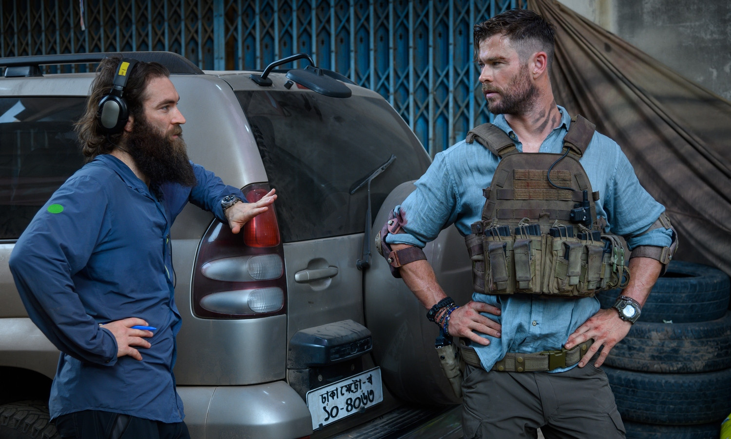 FRIDAY WIND DOWN: Hemsworth's wrist in Extraction proves that the world's biggest bad-asses wear…