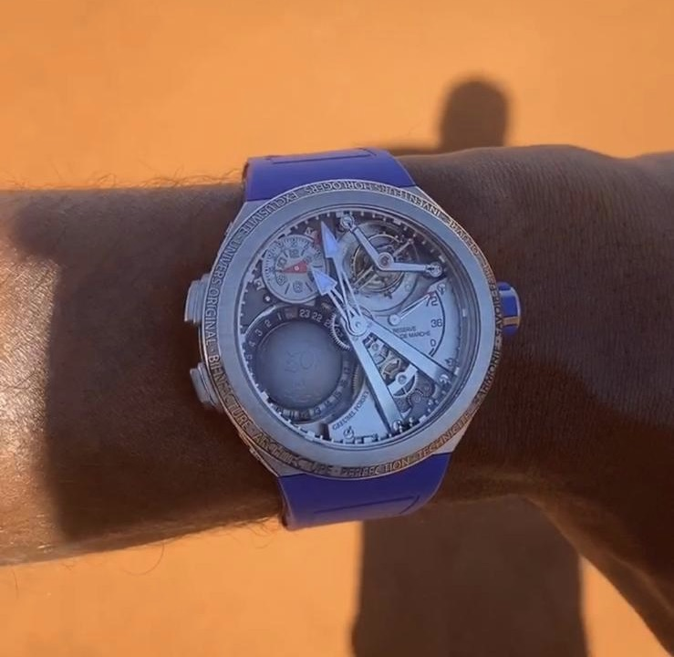 EDITOR'S PICK: Remembering when Gael Monfils smashed the sh*t out of a $500k USD Greubel Forsey GMT Sport