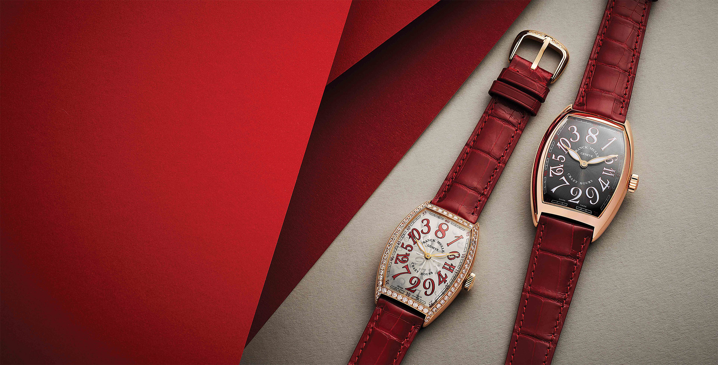 INTRODUCING: The Franck Muller Crazy Hours 15th Anniversary collection