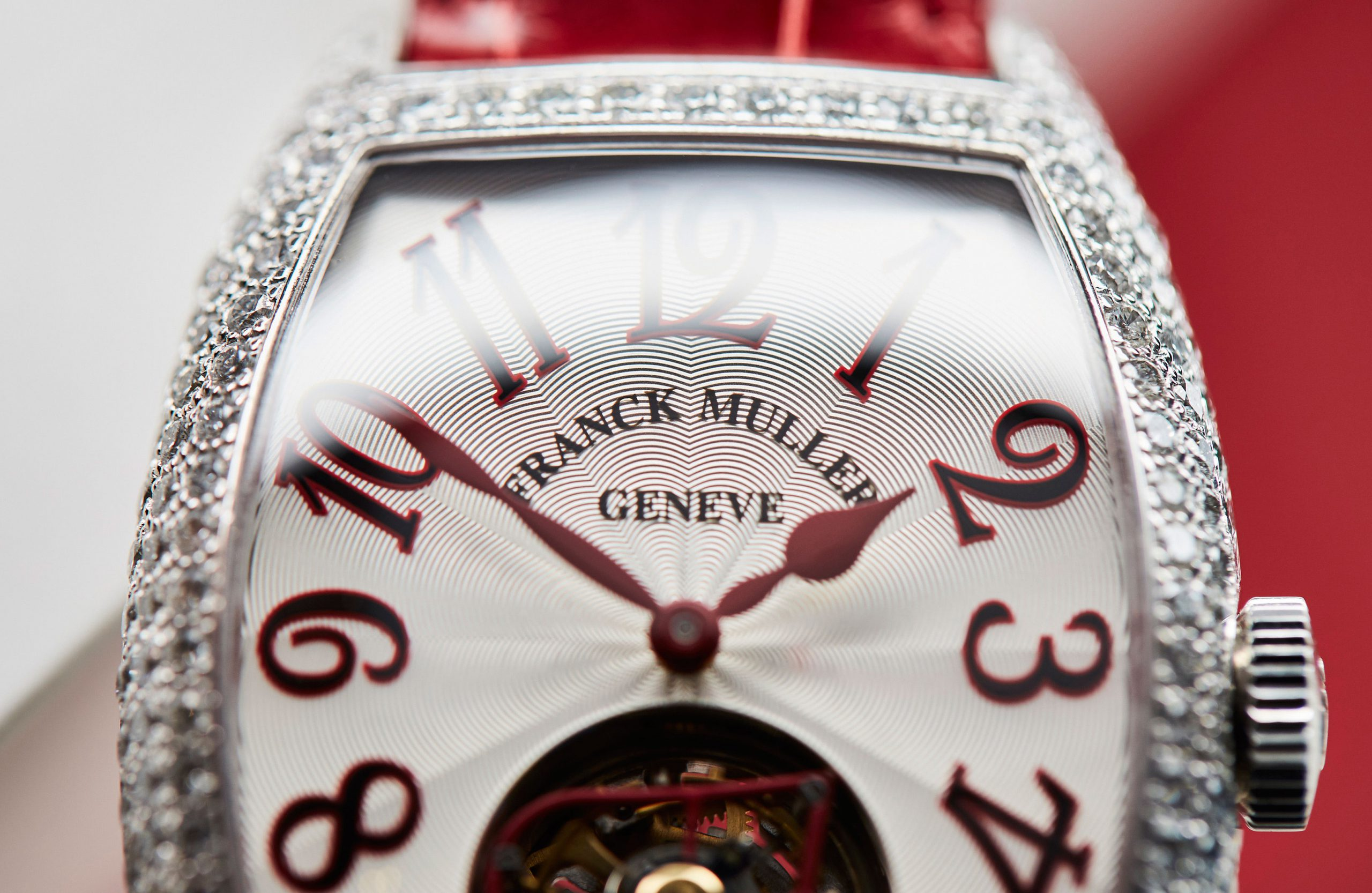 Franck Muller offers watchmaking that comes from the heart