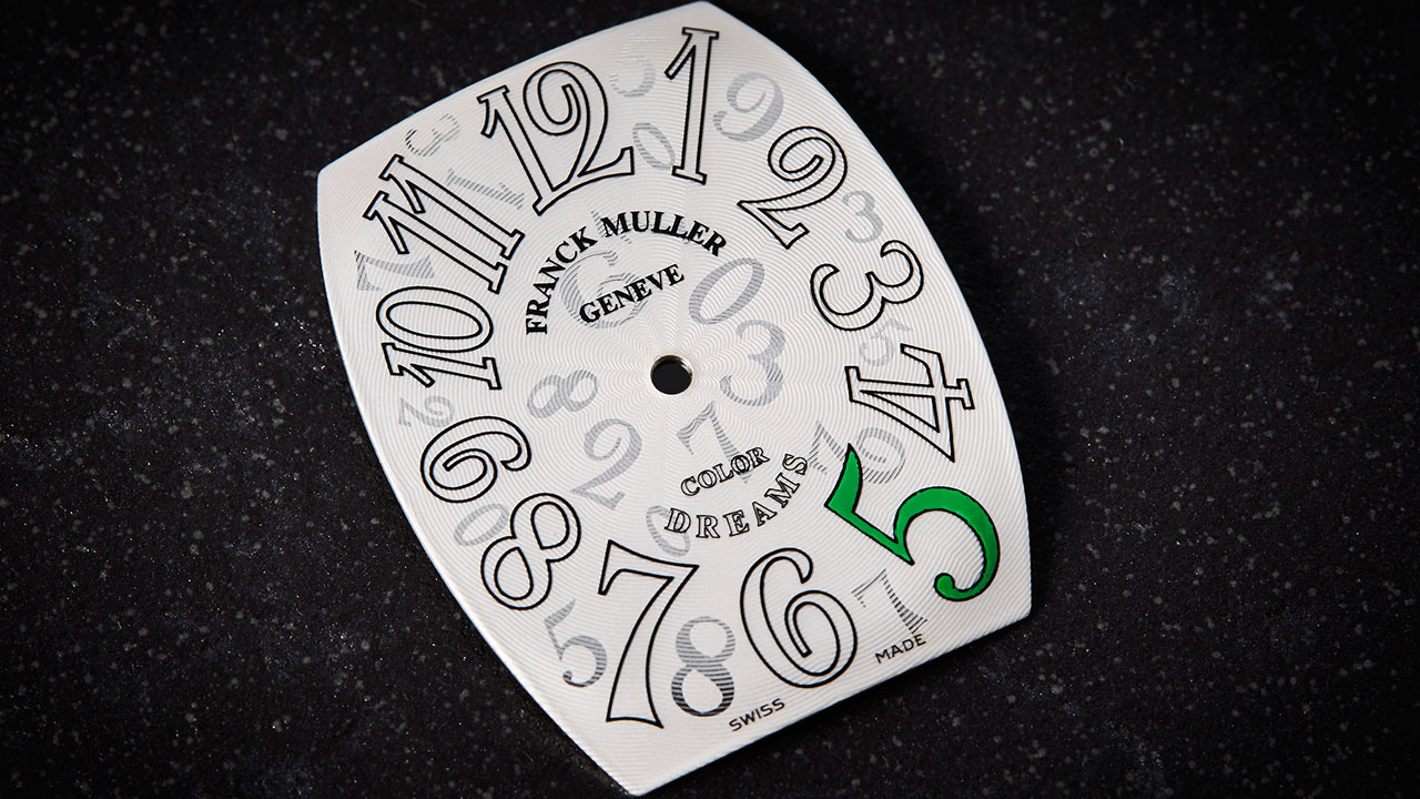 Why it's so challenging to paint a Franck Muller dial