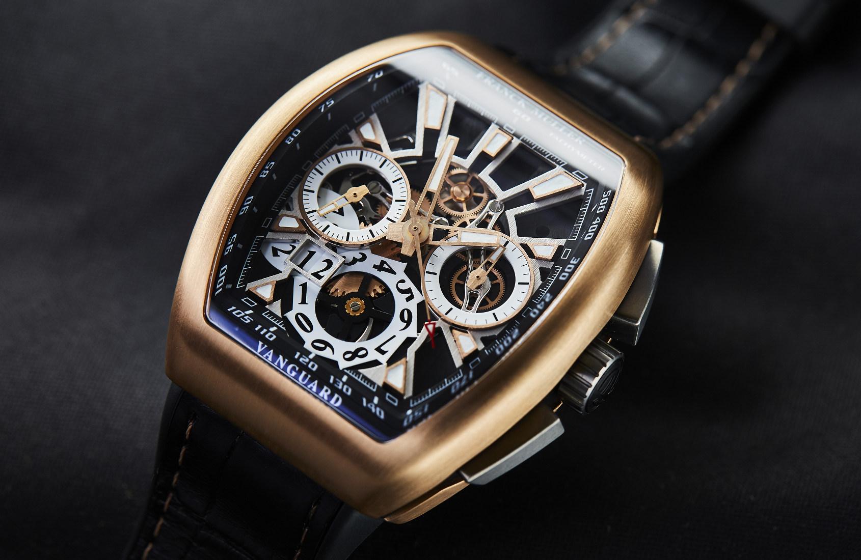 INTRODUCING: The Franck Muller Vanguard Grande Date