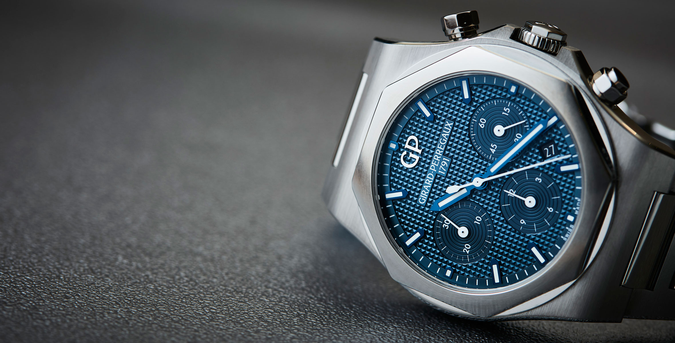 MY WEEK WITH: The Girard-Perregaux Laureato Chronograph, and how I got completely turned around to loving it