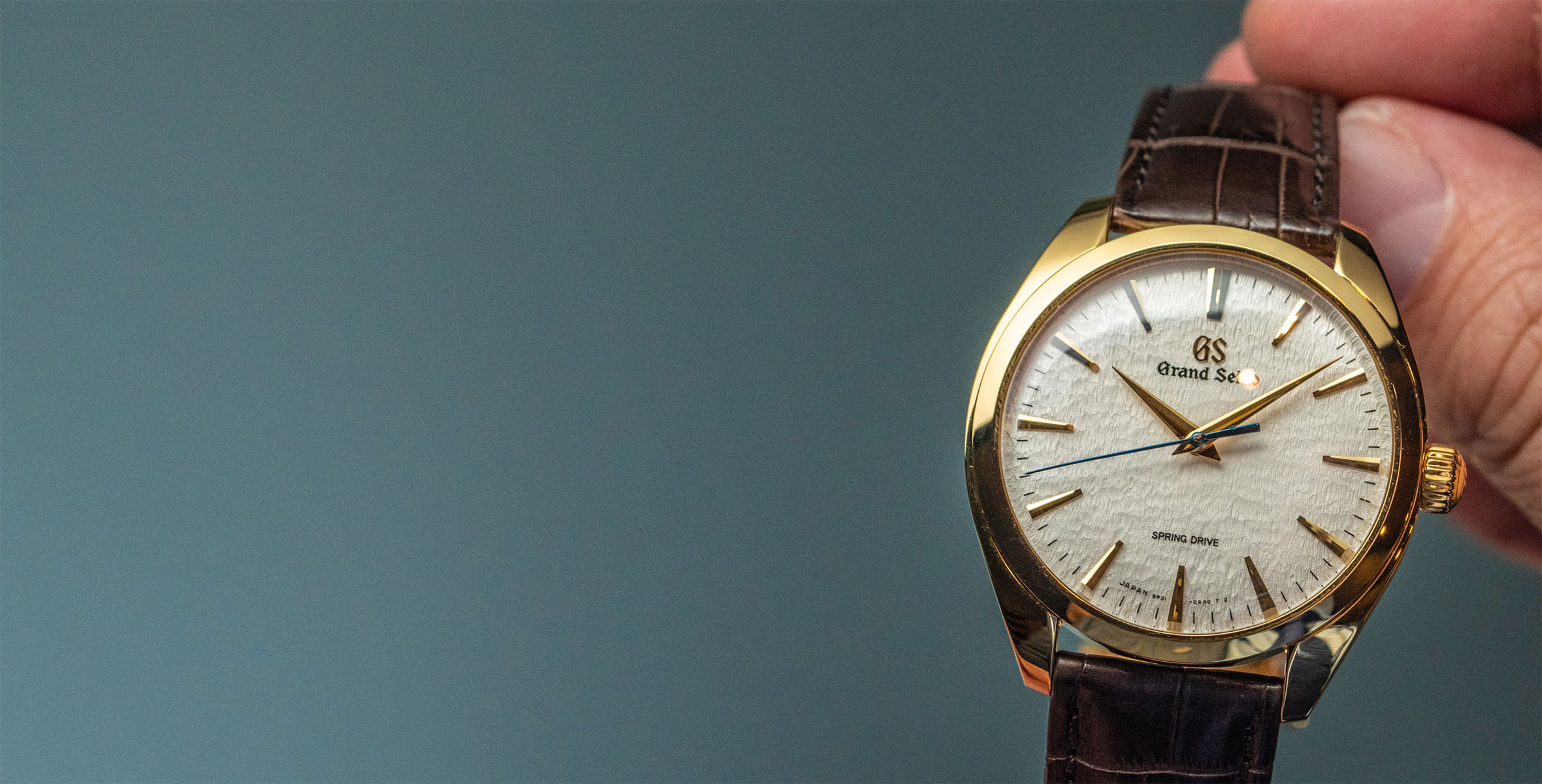 HANDS-ON: Grand Seiko's SBGY002, a hot new hand-wound take on the Snowflake