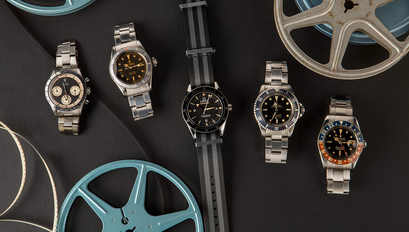 """The """"Iconic Watches of Hollywood"""" auction by Bob's Watches has some batshit-crazy Rolex models in it"""