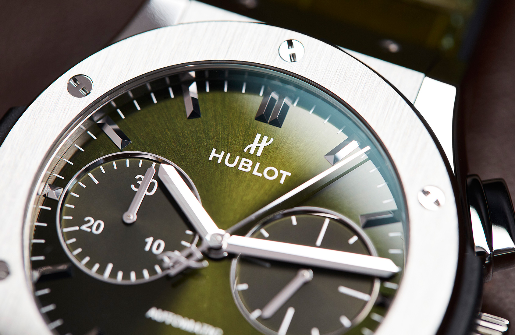 Green, lean and not at all mean –Hublot's Classic Fusion Titanium Green