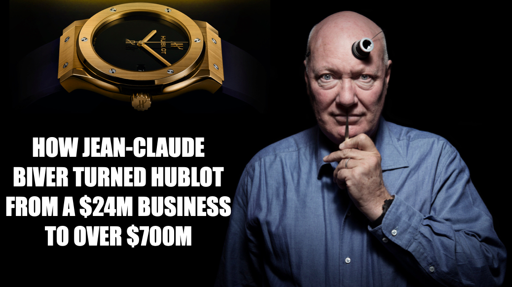 """""""We thought the world needed a luxury Swatch watch."""" Explosive Jean-Claude Biver interview tells the Hublot story like never before"""