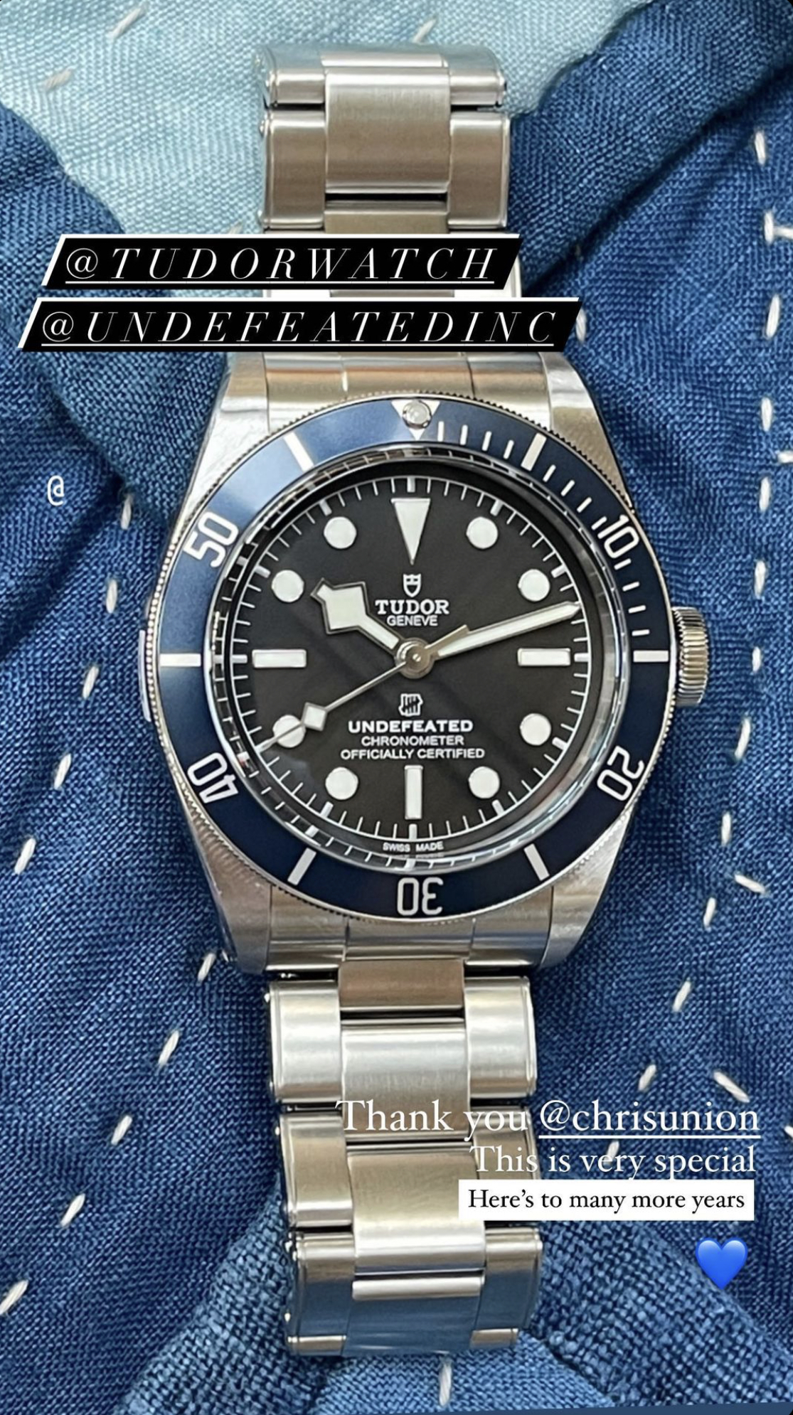 Undefeated Tudor Black Bay
