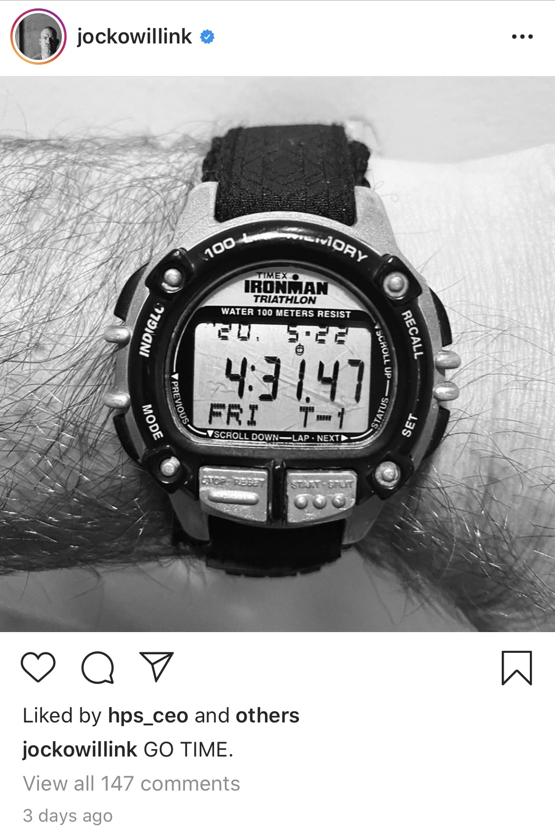 Our interview with Jocko Willink, and a daily shot of his Timex, is the motivation we all need right now