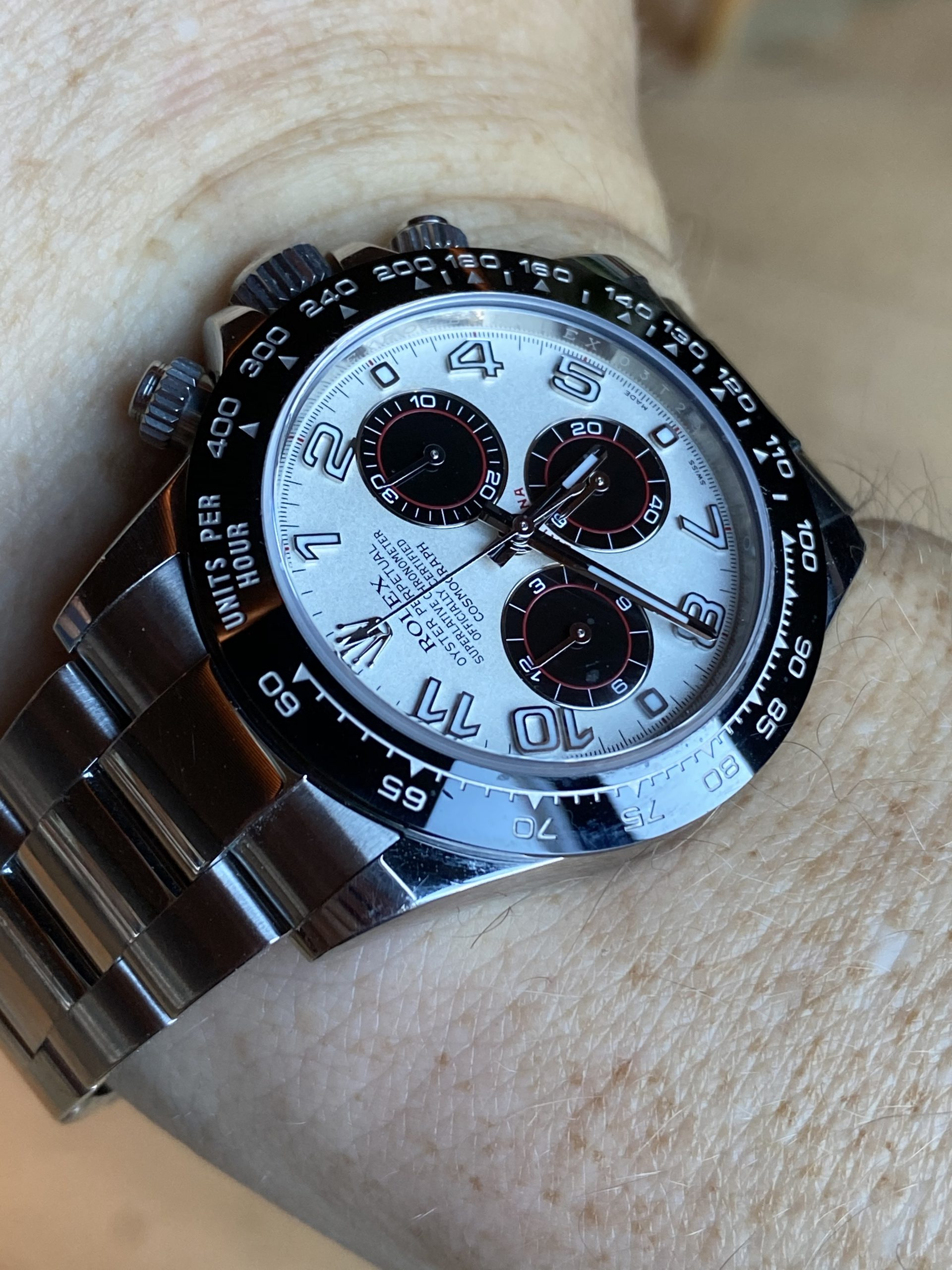 What is it with Perth and Daytonas? Glenn explains his 'unusual' 116500LN in the days after Horology House scandal