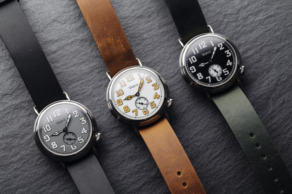 MICRO MONDAYS: Vario modernises the first wristwatch with their 1918 Trench line