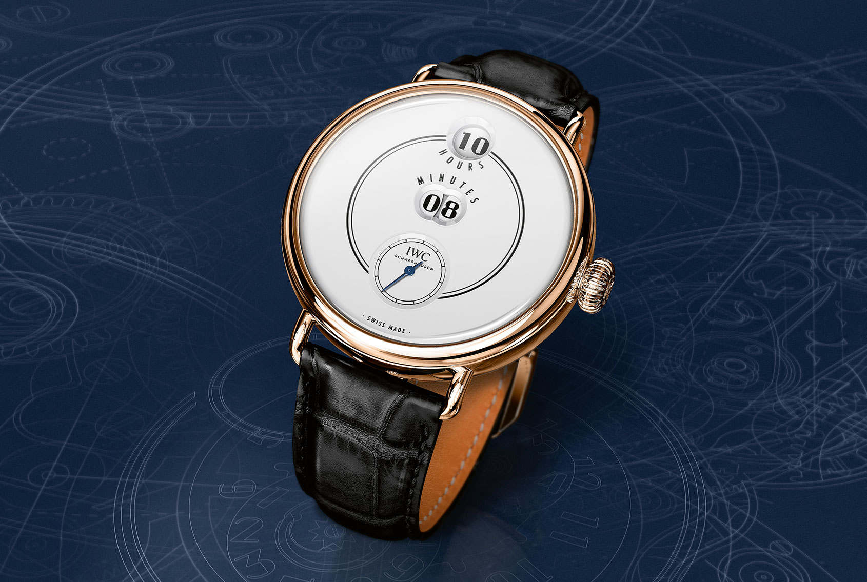 """INTRODUCING: The IWC Tribute to Pallweber Edition """"150 Years"""""""