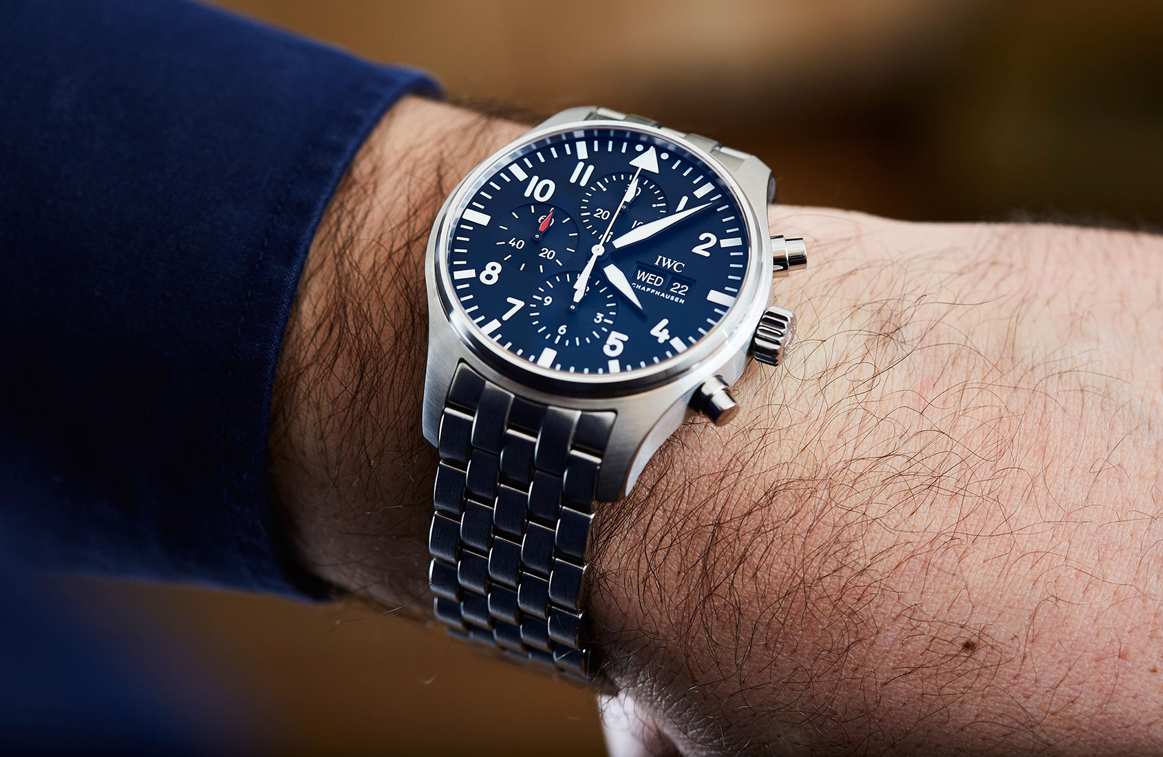 EDITOR'S PICK: What's not to love about the IWC Pilot's Chronograph?