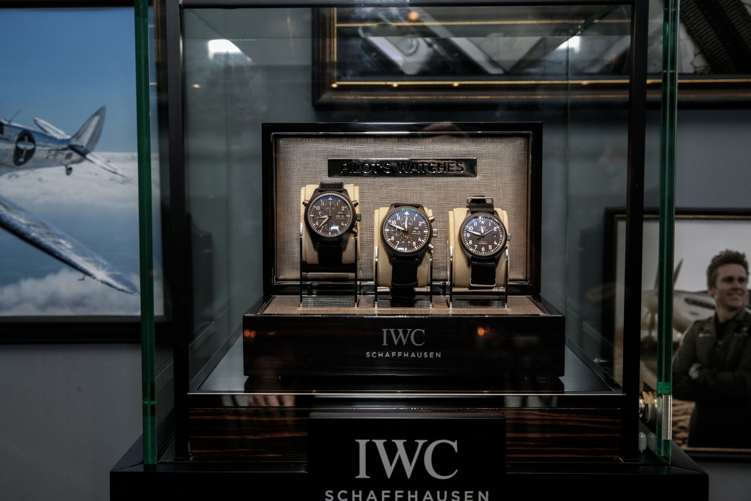 EVENT: IWC unveil the 2019 Pilot's Collection at cosy winter speakeasy in Sydney, including the stunning Timezoner and Ceratanium TOP GUN