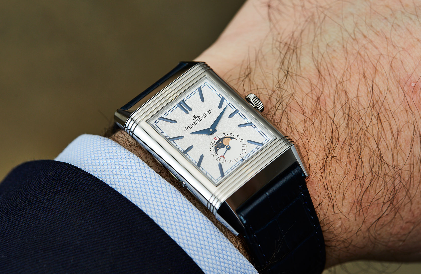 Flip it and reverse it – the Jaeger-LeCoultre Reverso Tribute Moon