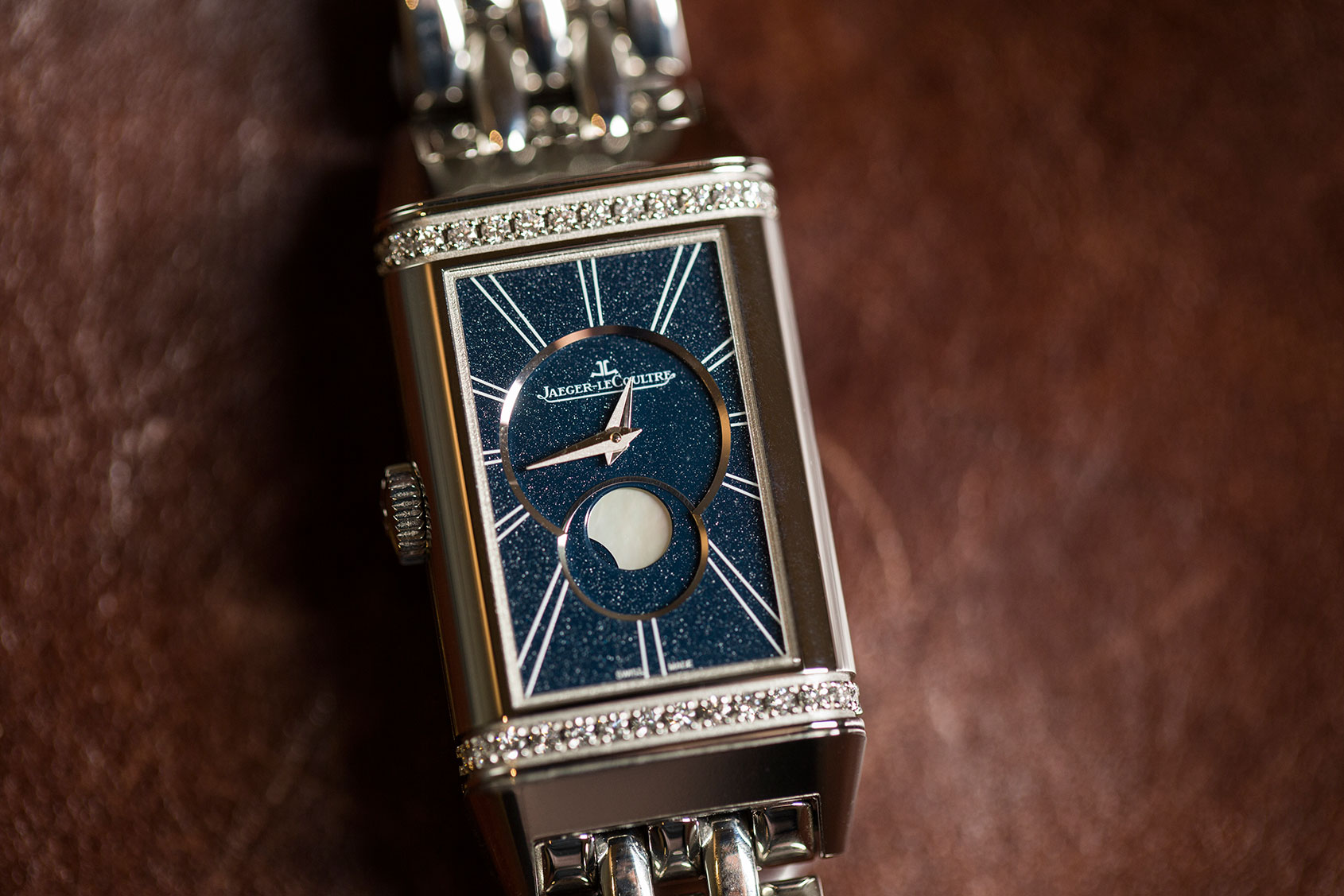 HANDS ON: the elegant double act of the Jaeger-LeCoultre Reverso One Duetto Moon